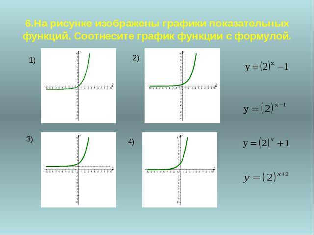 7.Назовите функцию, возрастающую (убывающую) на множестве действительных чис...