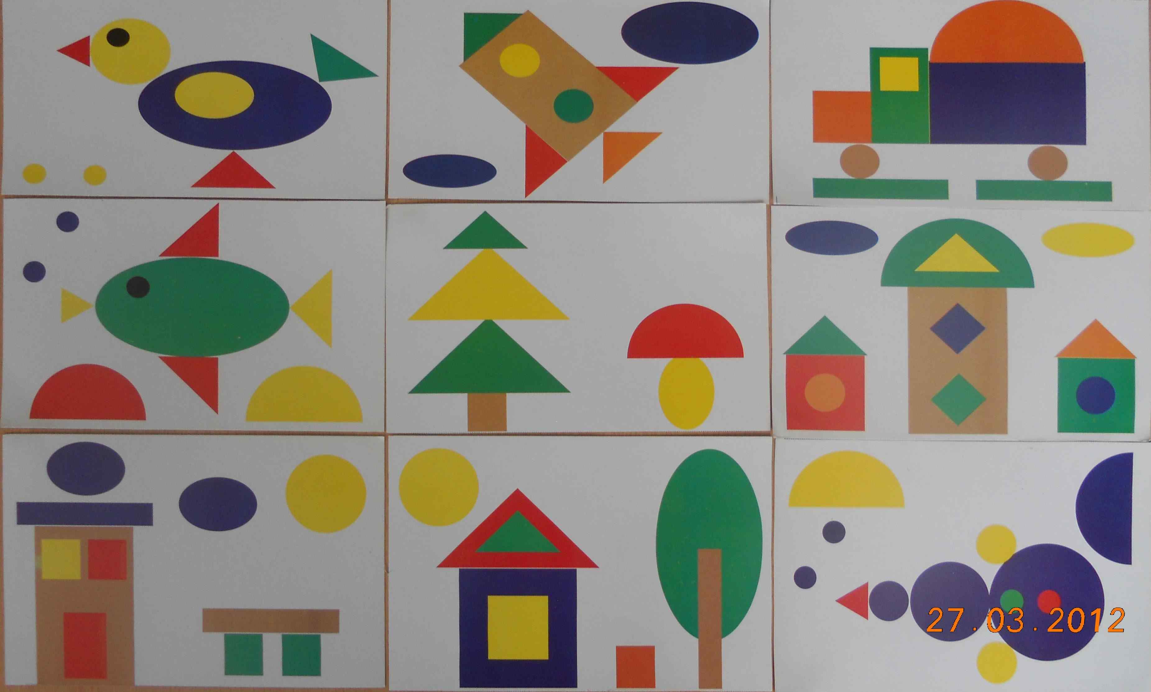 Геометрические фигуры и поделки из них 67