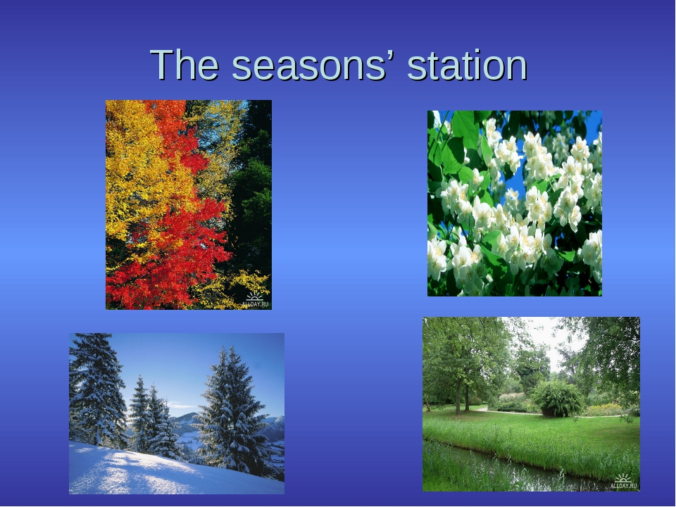 The seasons' station