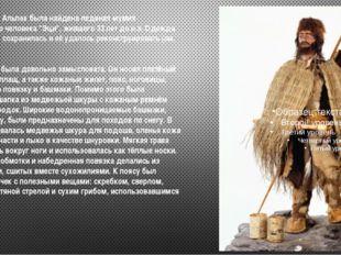 """В 1991 году в Альпах была найдена ледяная мумия первобытного человека """"Эци"""","""