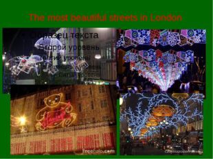 The most beautiful streets in London