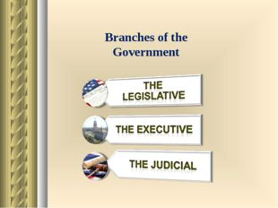 Branches of the Government
