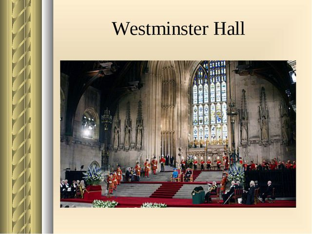 Westminster Hall