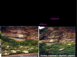 ДЕЙСТВИЕ СИЛЫ ТЯЖЕСТИ И КЛИМАТИЧЕСКИХ ПРОЦЕССОВ В горах климатические процесс