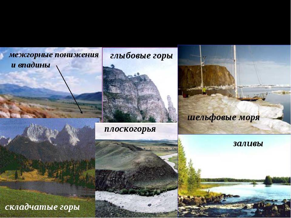 НЕОТЕКТОНИЧЕСКИЕ ДВИЖЕНИЯ создают крупные неровности земной поверхности межго...