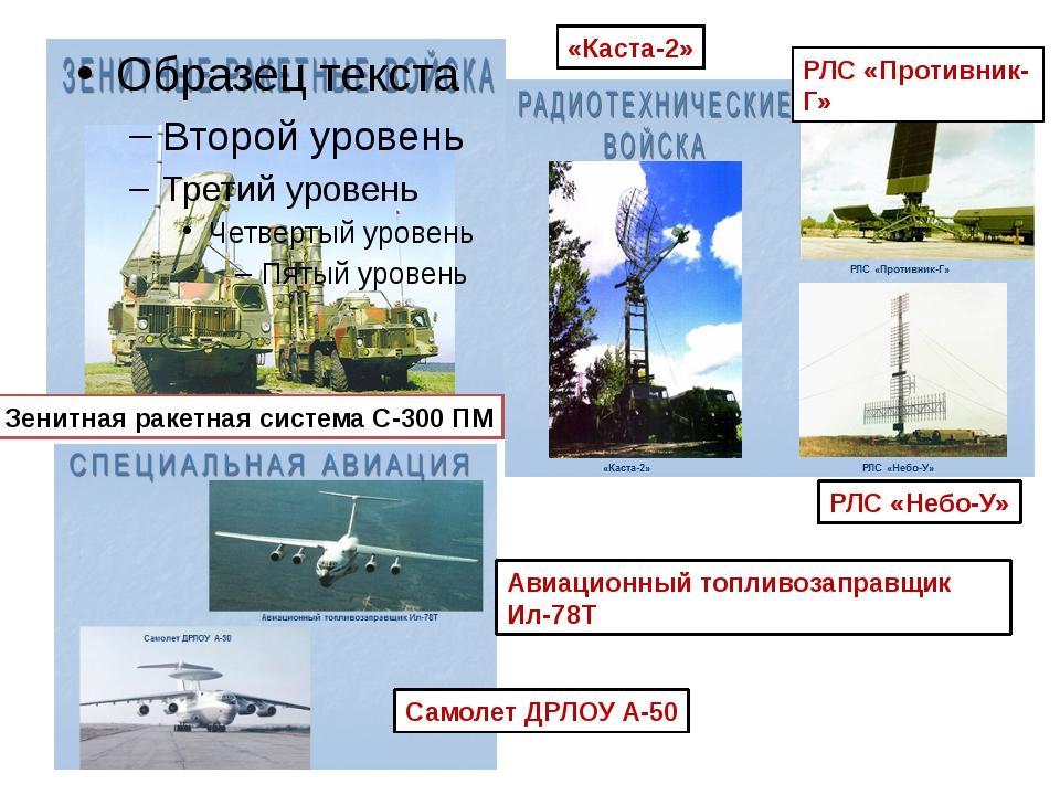 Зенитная ракетная система С-300 ПМ «Каста-2» РЛС «Противник-Г» РЛС «Небо-У» А...