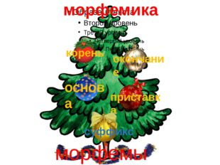 корень морфемика окончание основа приставка суффикс морфемы