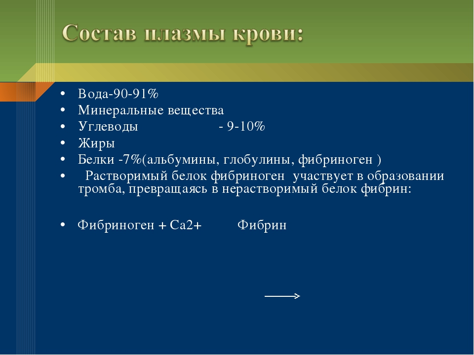Вода-90-91% Минеральные вещества Углеводы - 9-10% Жиры Белки -7%(альбумины, г...