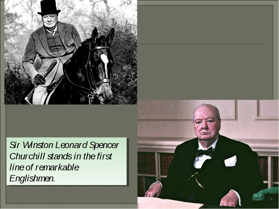 the life and political career of sir winston lenord spencer churchill Sir winston leonard spencer churchill stands in the first line of remarkable englishmen churchill had been formed a state life of united kingdom for a half of a century at the end of political career churchill was the theoretic of cold war.