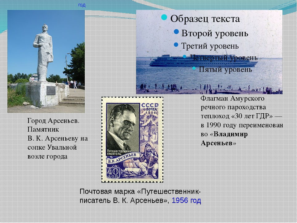 Город Арсеньев. Памятник В.К.Арсеньеву на сопке Увальной возле города Флаг...
