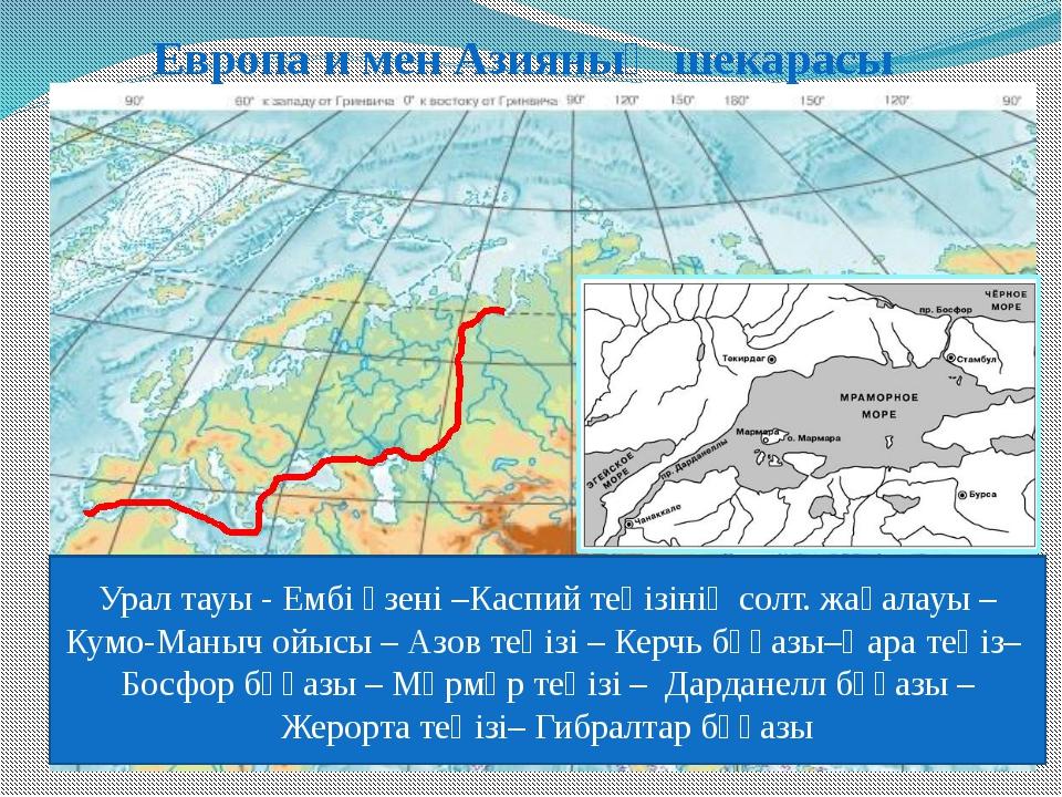 Евразияның солтүстіктен оңтүстікке қарай қашықтығы ? км