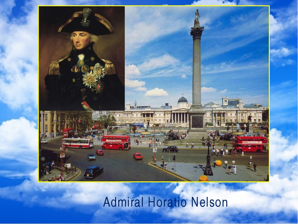Admiral Horatio Nelson