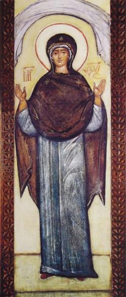 Покров Пресвятой Богородицы. ХХ в. Инок Григорий (Круг)