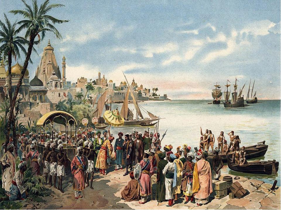 В 1498 г. первым обогнул южную оконечность Африки и привел свой корабль в Инд...