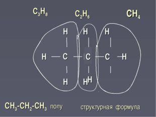 Н  Н  С Н Н  СН4  С С2Н6 структурная формула  Н  Н  Н  Н