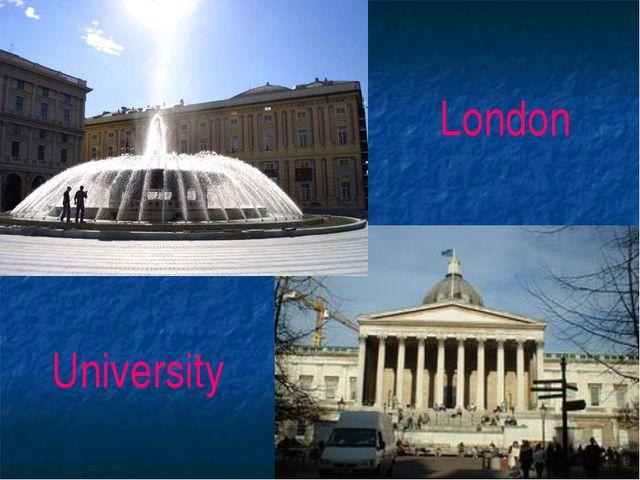 London University