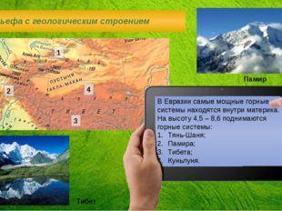 В Евразии самые мощные горные системы находятся внутри материка. На высоту 4,