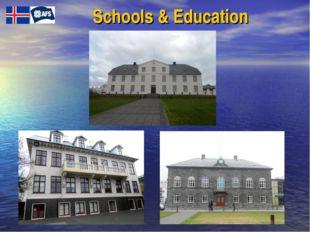 Schools & Education