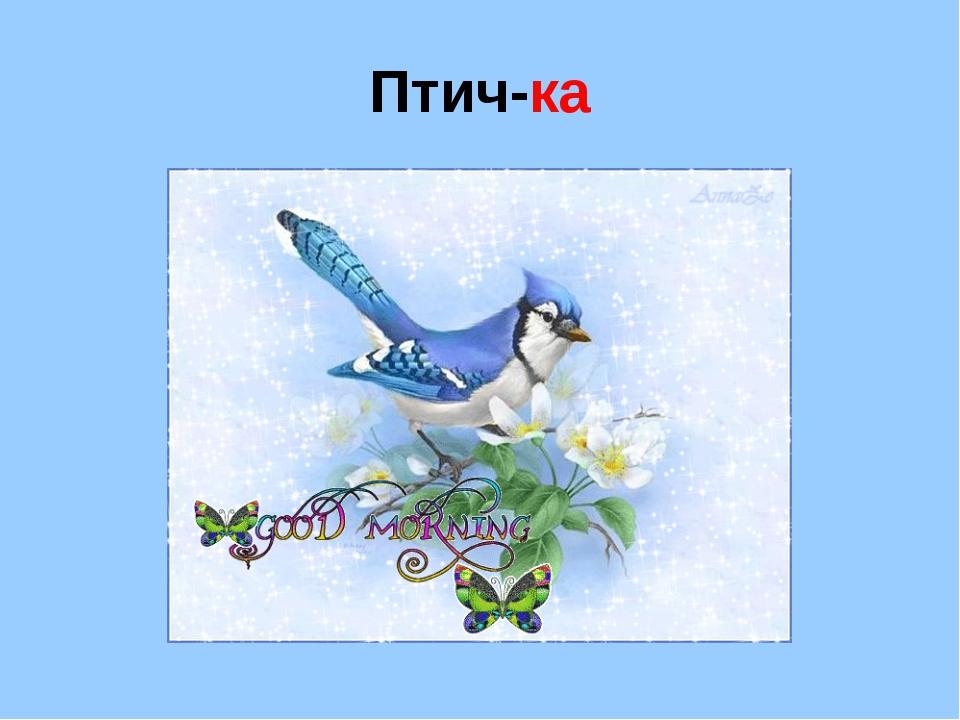 Птич-ка