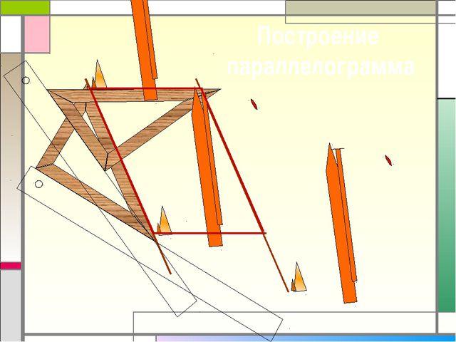 Построение параллелограмма