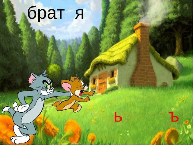 брат я ь ъ