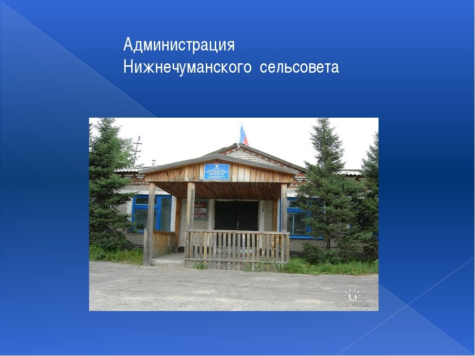 Администрация Нижнечуманского сельсовета