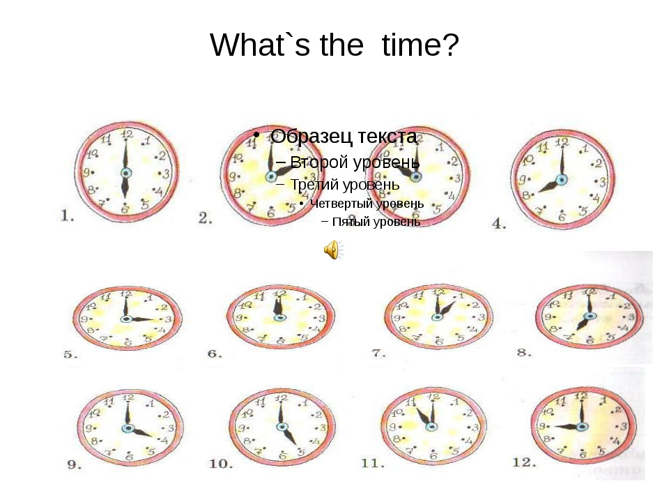 What`s the time?