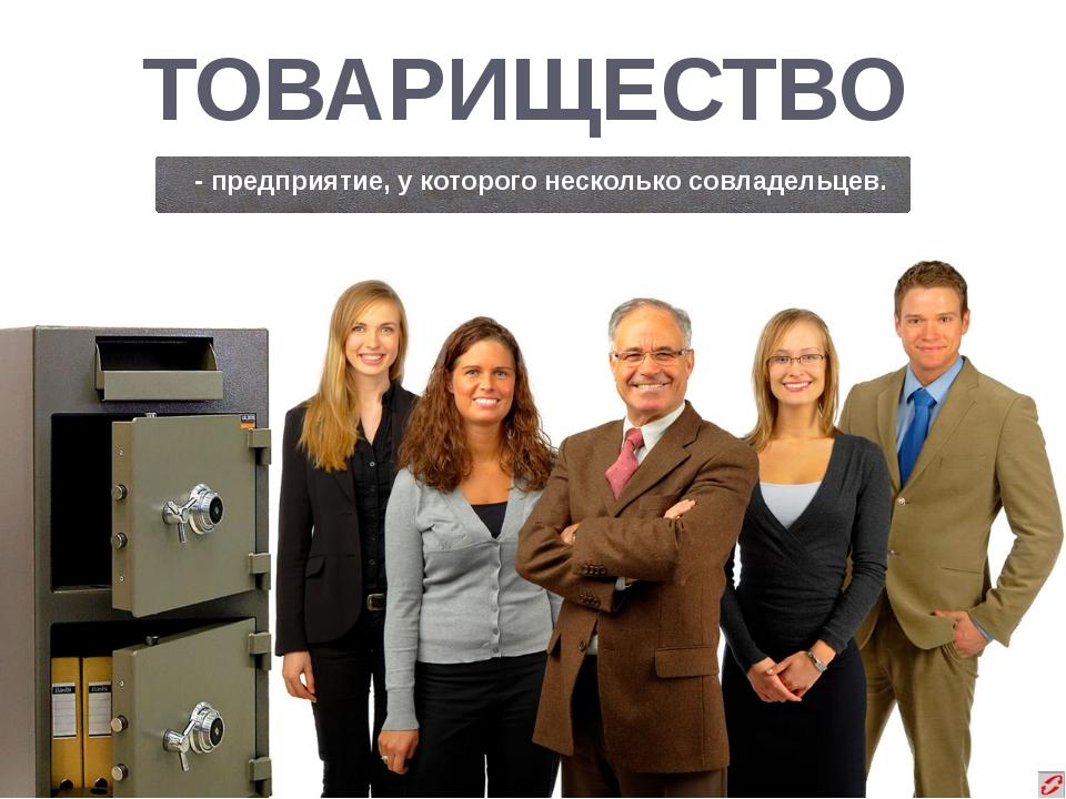 ПРЕДПРИНИМАТЕЛЬ - организатор производства товаров и услуг для получения приб...