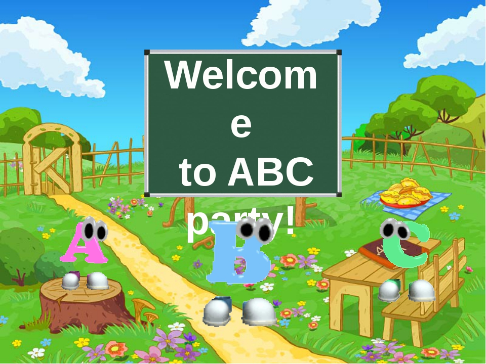 Welcome to ABC party!