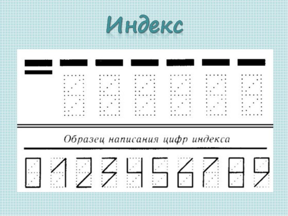 Почтовые индексы в картинках