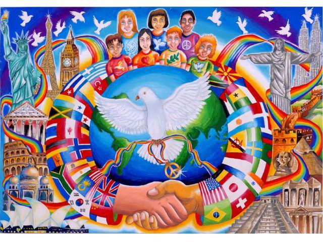 Мир – дружеские связи, отсутствие вражды, согласие между кем-либо, отсутствие...