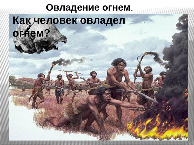 Овладение огнем. Как человек овладел огнем?