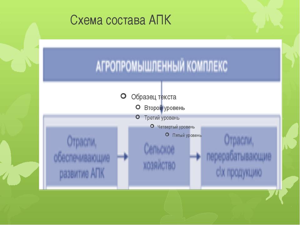 Схема состава АПК