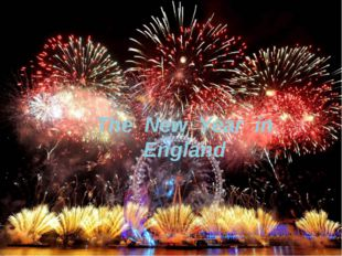 The New Year in England