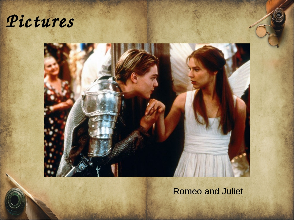 Pictures Romeo and Juliet
