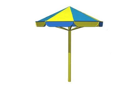 Описание: Зонтик от солнца для благоустройства пляжа