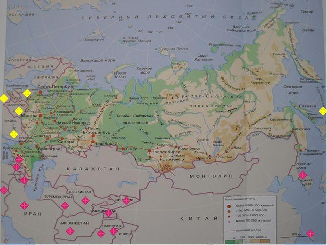 Геополитическое положение России в современном мире