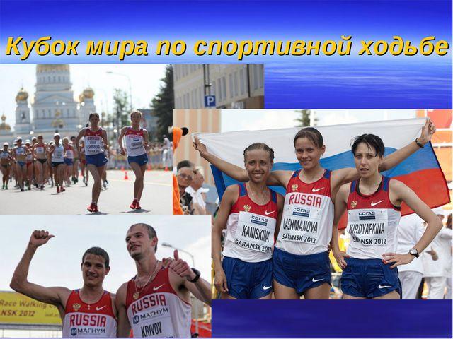 Кубок мира по спортивной ходьбе