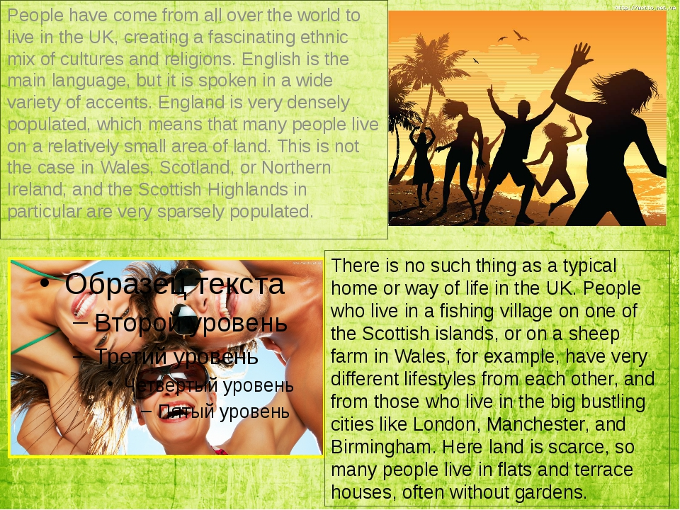 People have come from all over the world to live in the UK, creating a fascin...