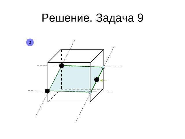 Решение. Задача 9 2