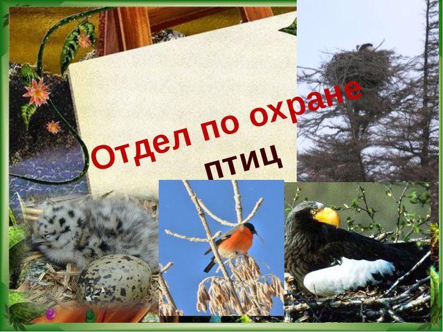 Отдел по охране птиц