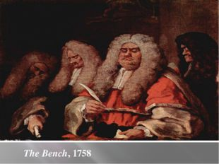 The Bench, 1758