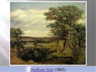 Dedham Vale (1802)
