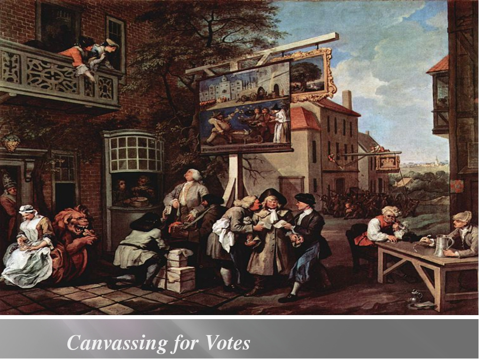 Canvassing for Votes