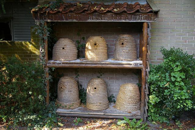 Домики для диких пчел своими руками 30