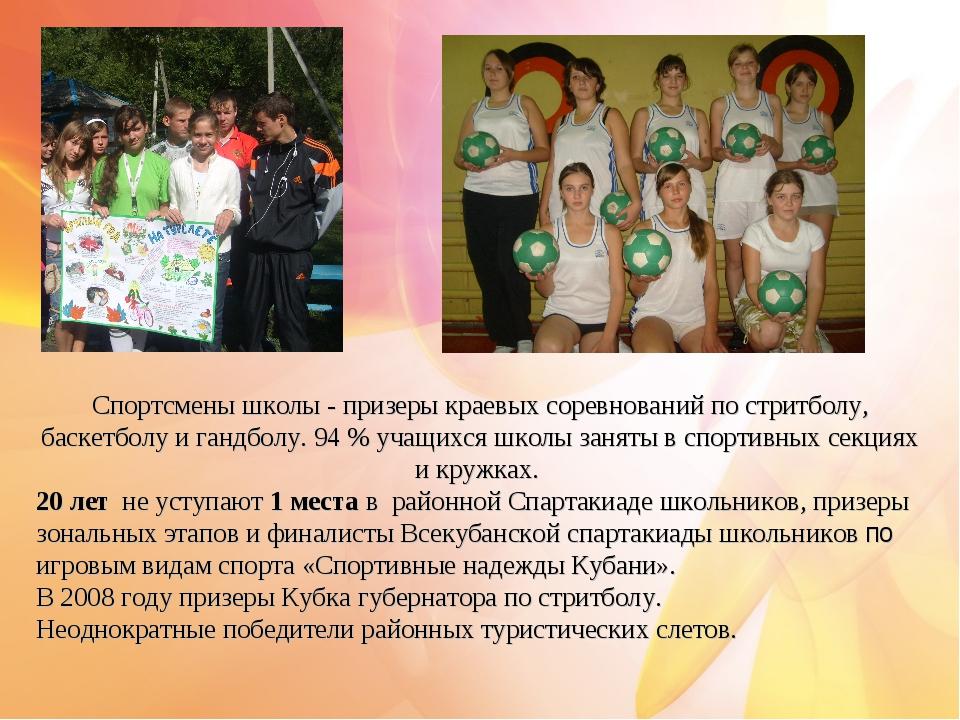 Спортсмены школы - призеры краевых соревнований по стритболу, баскетболу и...