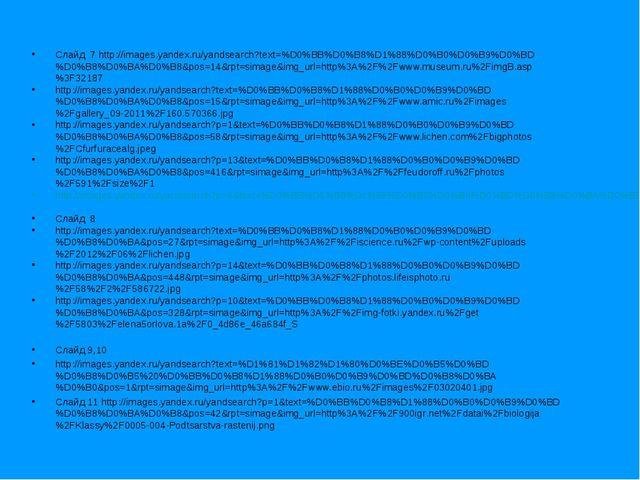 Слайд 7 http://images.yandex.ru/yandsearch?text=%D0%BB%D0%B8%D1%88%D0%B0%D0%B...