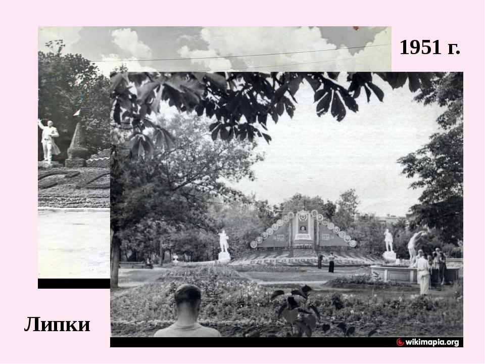 1951 г. Липки