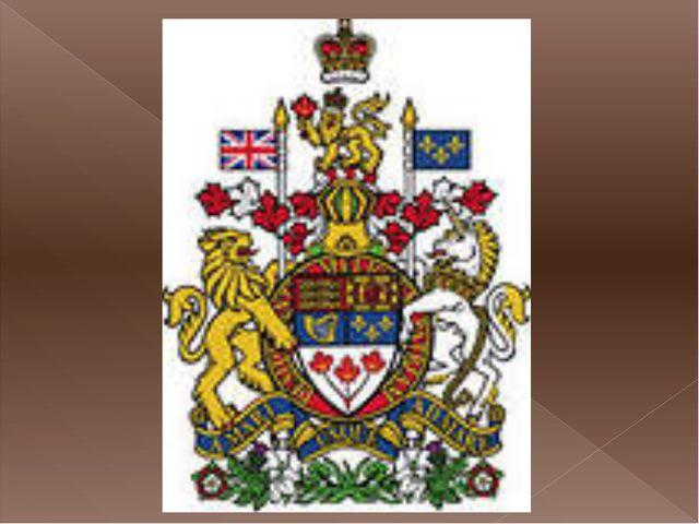 редкие значки с изображением канадского герба состав кожаных духов