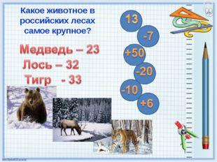 Какое животное в российских лесах самое крупное?